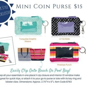 thirty-one Bags | Nwt 31 Mini Coin Purse